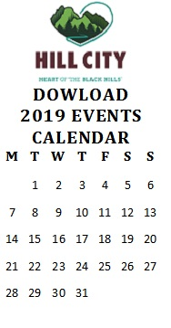 2019 Calendar of Events List